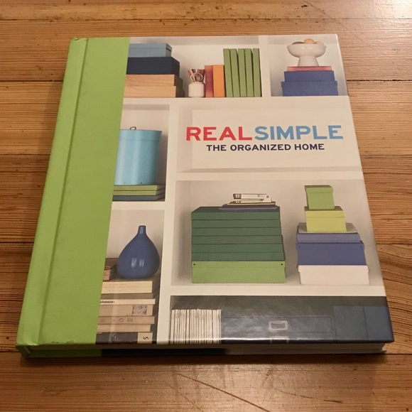 Real Simple:The Organized Home hardcover book.
